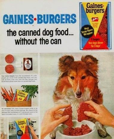 Dog Food Gaines Burgers