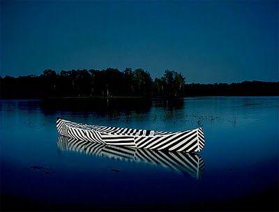 striped canoe~