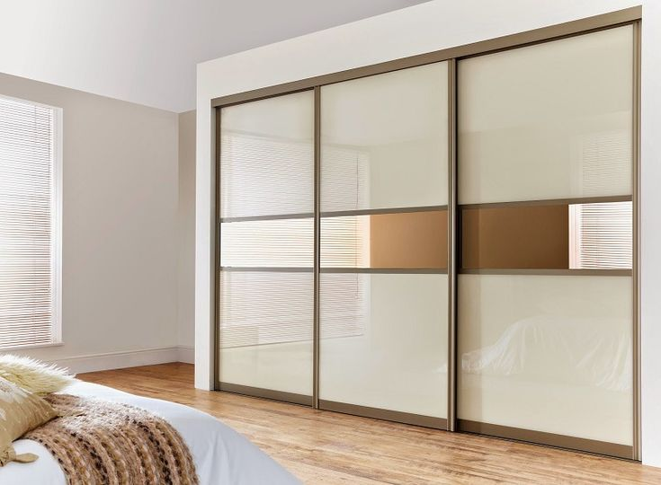 Sliding Three Doors Wardrobe Design Id563 - Three Door Sliding Wardrobe Designs - Wardrobe Designs - Product Design
