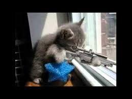 Si te acercas, disparo.