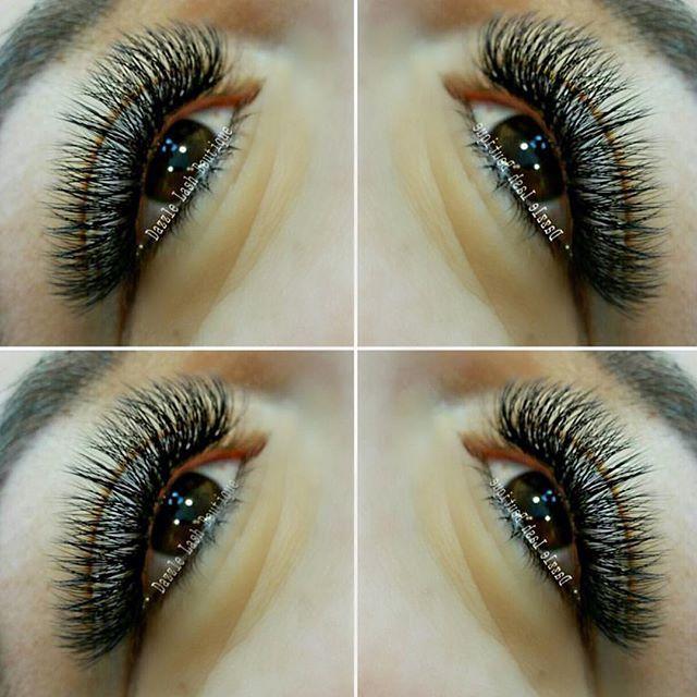 Volume eyelash extension inspiration!