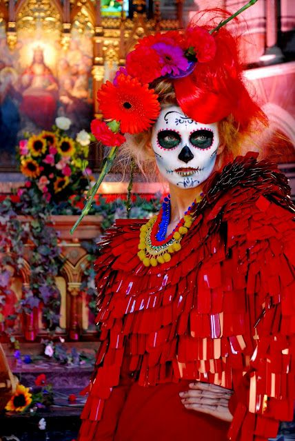 Day of the dead, fashion