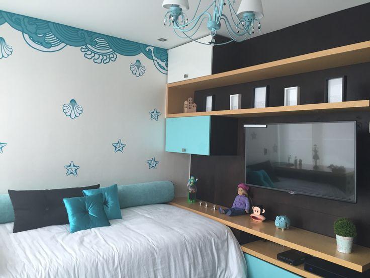 Design by: Elizabeth Arévalo Diseño & Decoración. #Bedroom #Design #HomeDecor #InteriorDesign #Bed #Pereira #Colombia