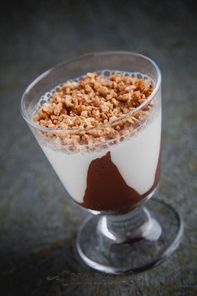 CSokoládés panna cotta | Csokiország - Minden, ami csoki