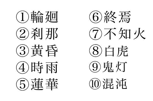 漢字好きにしか読めない 特別な難読漢字クイズ クイズ 難読 知覚