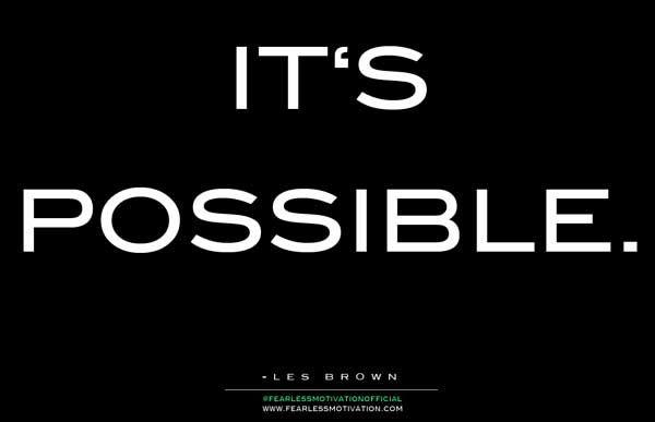 les brown its possible   #lesbrown  #kurttasche  #successwithkurt