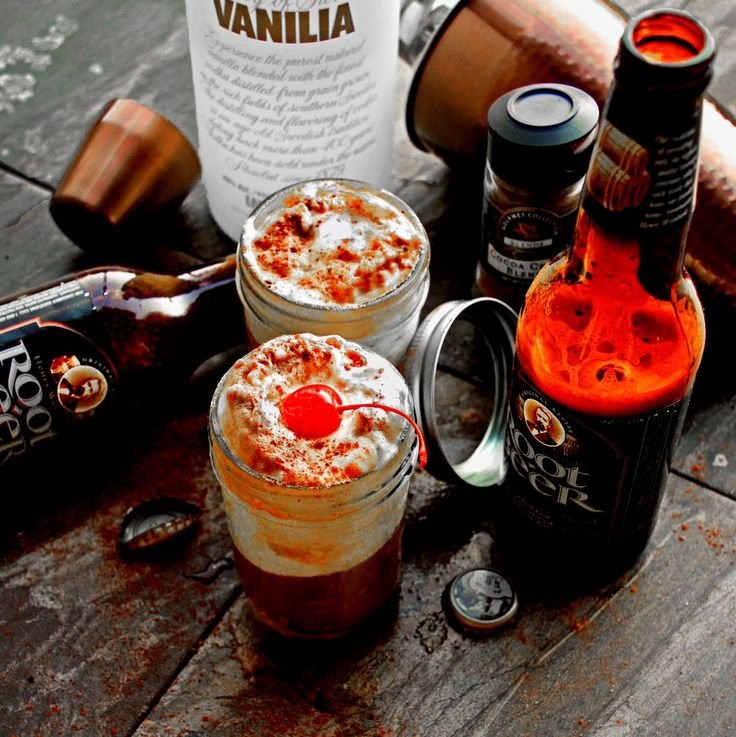 Boozy Root Beer Floats | Tantilizing Spirits | Pinterest