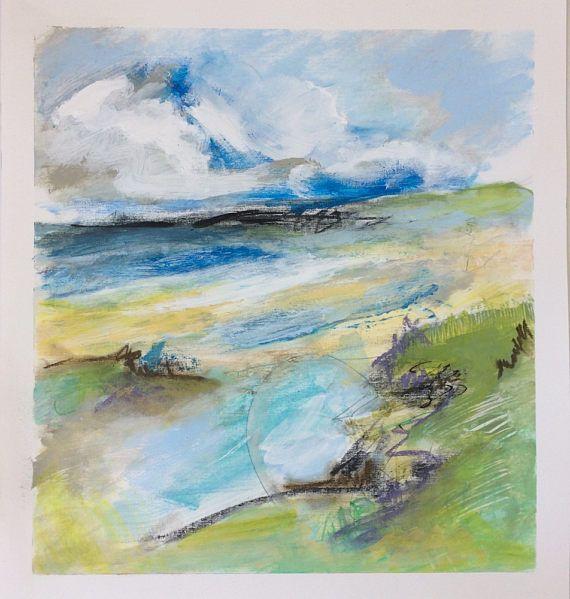 beautiful beachscape paintings