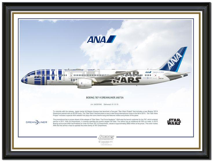 ANA R2 D2 Boeing 787-9