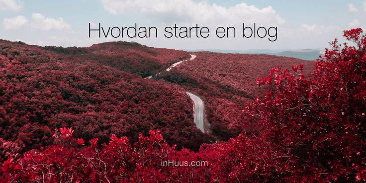 Hvordan starte en blog?