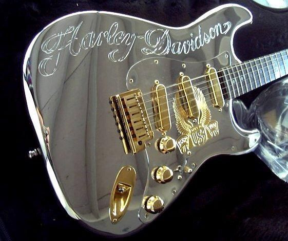 Fender Custom Shop - Harley Davidson Diamond Dealer Guitar