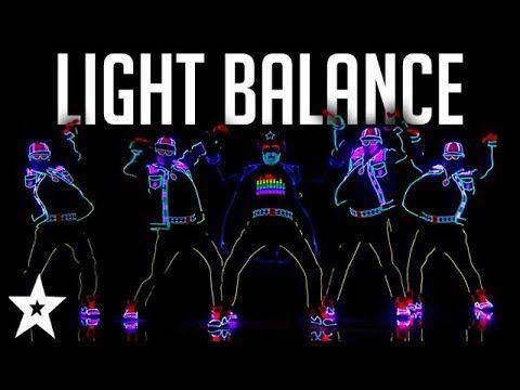 Light Balance FINALIST | ALL Performances | America's Got Talent 2017 - YouTube