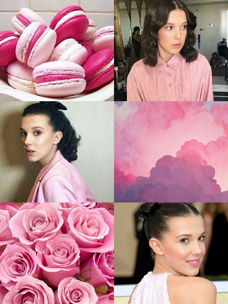 Millie Bobby Brown wallpaper pink