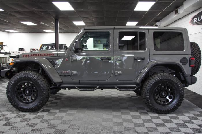 2018 Jeep Wrangler Rubicon Unlimited Jl Sting Gray Jeep Wrangler