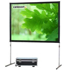 Doorzicht projectiescherm 244x183cm. Dit doorzichtscherm ook wel rear-projection scherm genoemd is van zeer hoogwaardige en extreem robuuste materialen gemaakt en voor veelvuldig mobiel gebruik ontwikkeld.