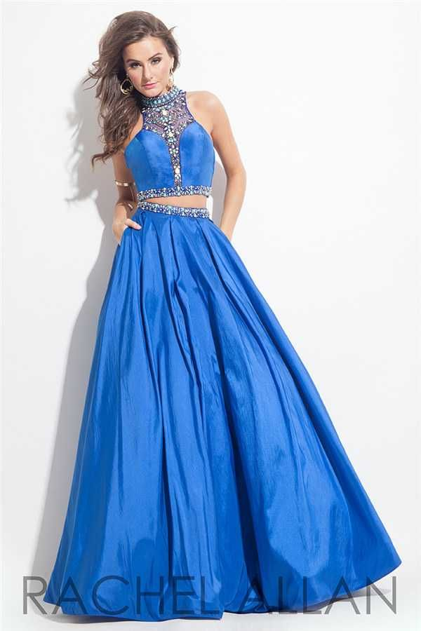 Dazzling Beaded Rachel Allan 7195 Ball Gown Prom Dresses Hotsale