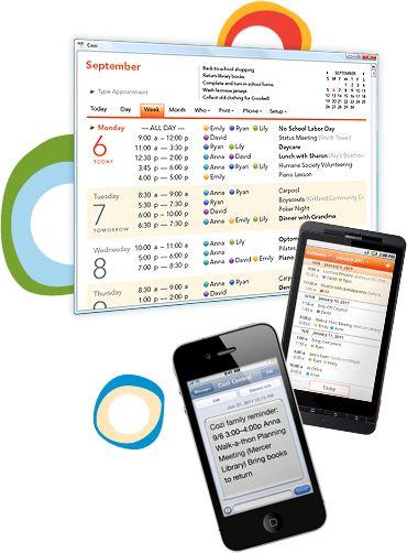 Cozi.  Family organizer app