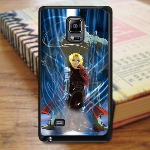 Fullmetal Alchemist Brotherhood Edward And Alphonse Anime Cartoon Samsung Galaxy Note 4 Case