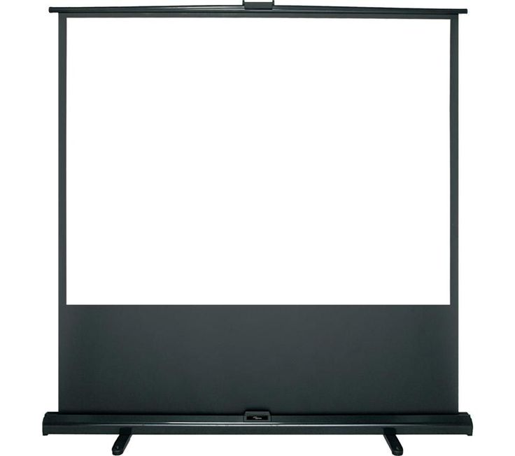"""OPTOMA  DP-3084MWL 84"""" Portable Pull Up Projector Screen Price: £ 149.99 Use the Optoma DP-3084MWL 84"""" Portable Pull Up Projector Screen to conduct large-scale, high-quality presentations. The portable design means that you can move it from room to room or around the country. Great for business and home cinema use The Optoma DP-3084MWL Screen can be used in both 4:3 and 16:9 formats for..."""