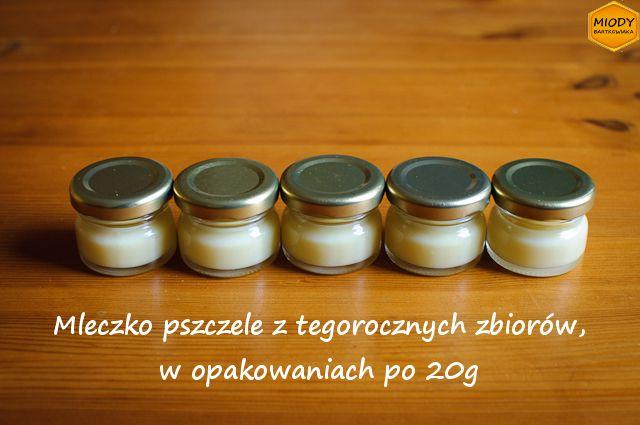 Świeże mleczko pszczele ma konsystencję budyniu. Służy do suplementacji i wspomagania leczenia różnych dolegliwości. O właściwościach przeczytasz tutaj: http://miodybartkowiaka.pl/faq_mleczko.html