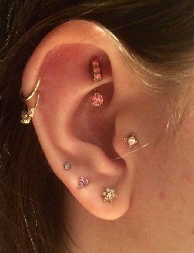 Cute Ear Piercings Tumblr