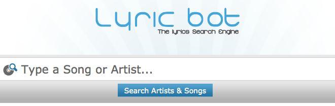 LyricBot - Search Engine Script for Lyrics Search Engine
