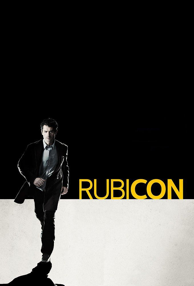 Rubicon. A short-lived TV series. Good conspiracy story.
