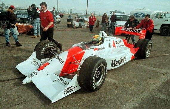 Ayrton Senna - Penske PC21 Chevrolet B - Penske Racing - In December of 1992…