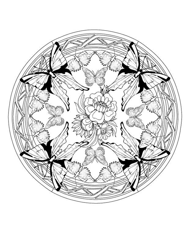 e0f47f3bfd374ff4c3ebdb6cd27359ce  coloring pages mandala animal coloring pages