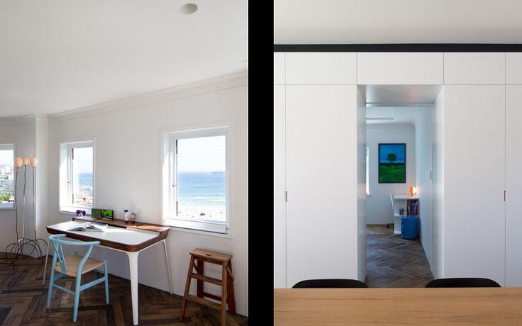 Bondi Apartment - Living Space with View to Bondi Beach