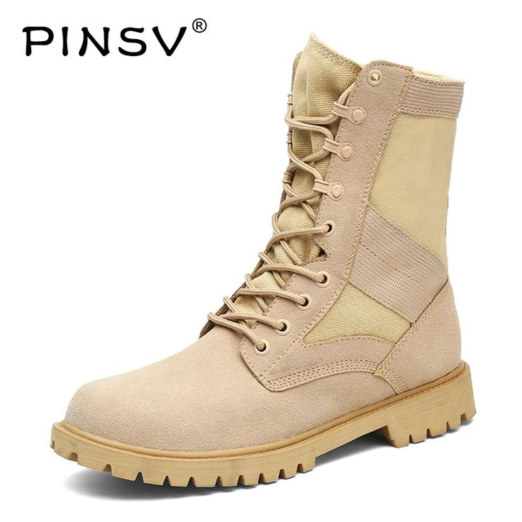 PINSV Military Boots Men Tactical Boots High Top Army Boots Safety Shoes Black Men Boots Botas Hombre Chaussure Homme Size 38-45 -  Check Best Price for. We give you the discount of finest and low cost which integrated super save shipping for PINSV Military Boots Men Tactical Boots High Top Army Boots Safety Shoes Black Men Boots Botas Hombre Chaussure Homme Size 38-45 or any product promotions.  I hope you are very lucky To be Get PINSV Military Boots Men Tactical Boots High Top Army Boots…