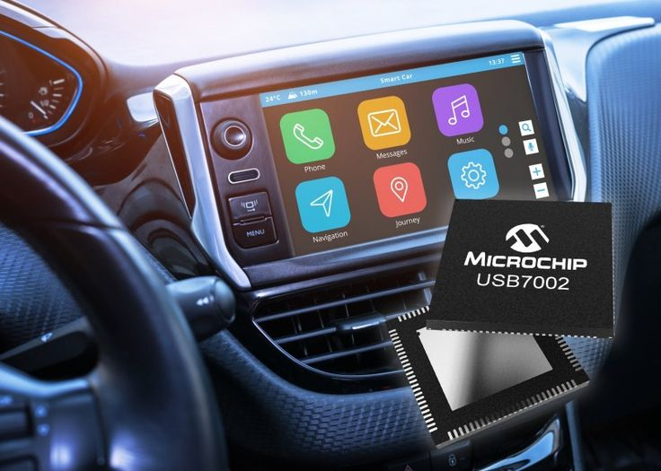 Automotive USB 3.1 SmartHub Features TypeC Support