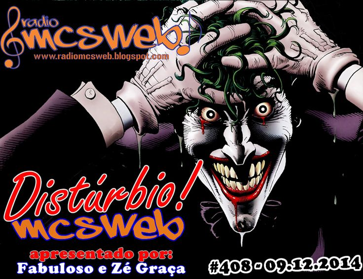 #408 Distúrbio MC's Web  http://radiomcsweb.blogspot.com.br/2014/12/408-disturbio-mcs-web-09122014.html