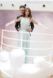 Titanic theme prom stop for grand march