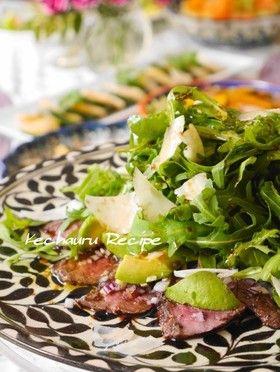 牛タタキとアボカドのカルパッチョ風サラダ by ケチャ&ウル ...