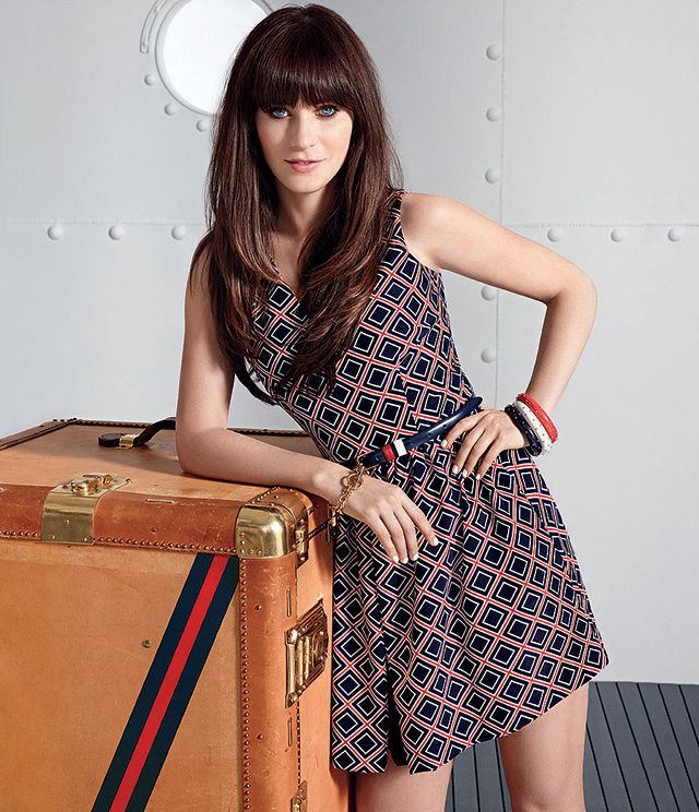 Tommy Hilfiger x Zooey Deschanel http://usa.tommy.com/shop/en/thb2cus/FEATURES