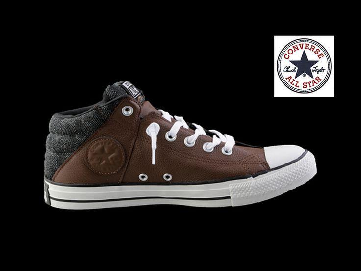 MUNDO CONVERSE Te presenta el modelo CHUCK TAYLOR AXEL MID CHOC/BLACK un sneaker que viene en piel color café con suela y puntera blanca. El precio es de $1149.00 y está disponible en tallas de 25.5 a 29. Búscalo en tu tienda Converse. www.converse.com.mx