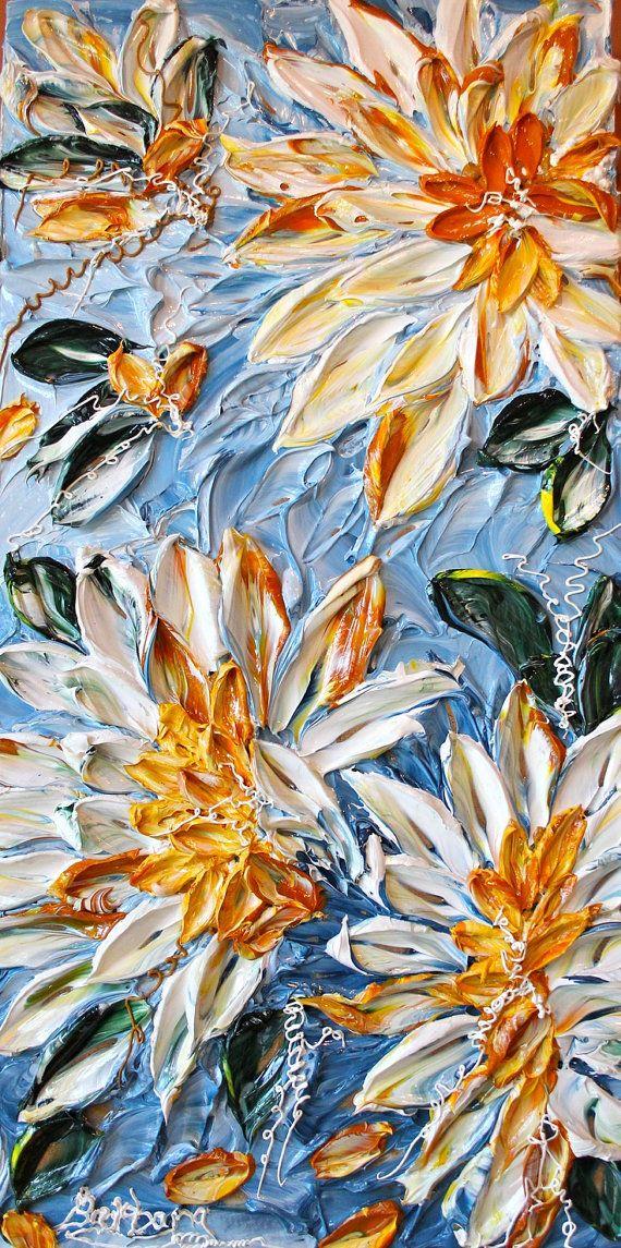 Sol sobre mis hombros arte abstracto Floral por CreativeWomanhood                                                                                                                                                                                 Más