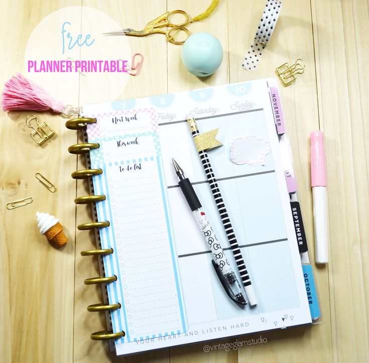 Happy Planner Checklists Inserts - Free printable