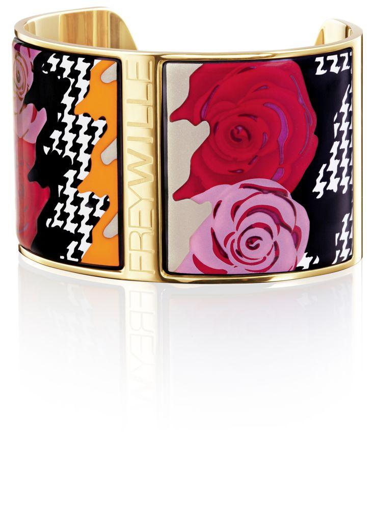 Bracelet Manchette Aphrodite design PEPITA ROSE.