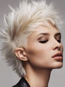 funky girl mohawks | Pictures : Punk Girl Hairstyles