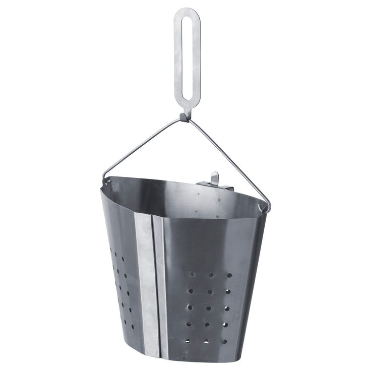 IKEA - STABIL, Boiling insert, Only one pot is needed to boil different food at the same time, which saves energy.The handle can be detached, which makes it easier to lift the pot as the handle doesn't get hot.