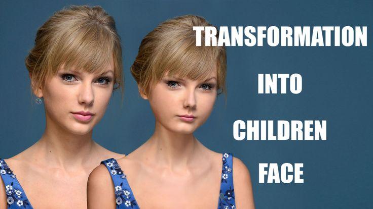 Cara Merubah Wajah Menjadi Anak - Anak Dengan Photoshop | Fojo Design