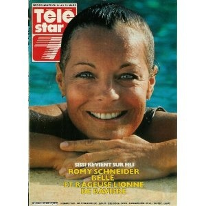 Romy Schneider, belle et rageuse lionne de Bavière : Sissi revient sur FR3, dans Télé Star n°232 du 10/03/1981 [couverture et article mis en vente par Presse-Mémoire]