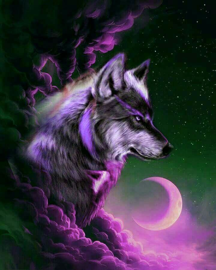 Pin by Adriana Barrios on Wolves Wolf spirit animal Wolf wallpaper Mythical creatures art