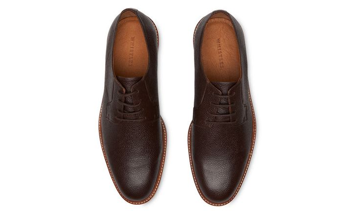 Leather Derby, Brown | WHISTLES