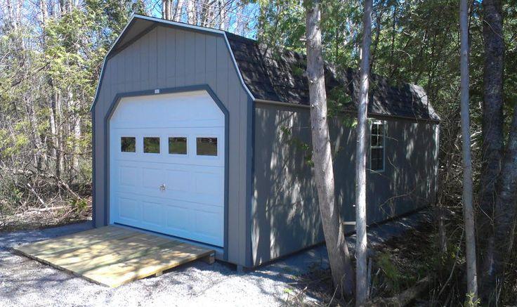 61 best ideas about prefab garage sheds on pinterest for Prefab she shed
