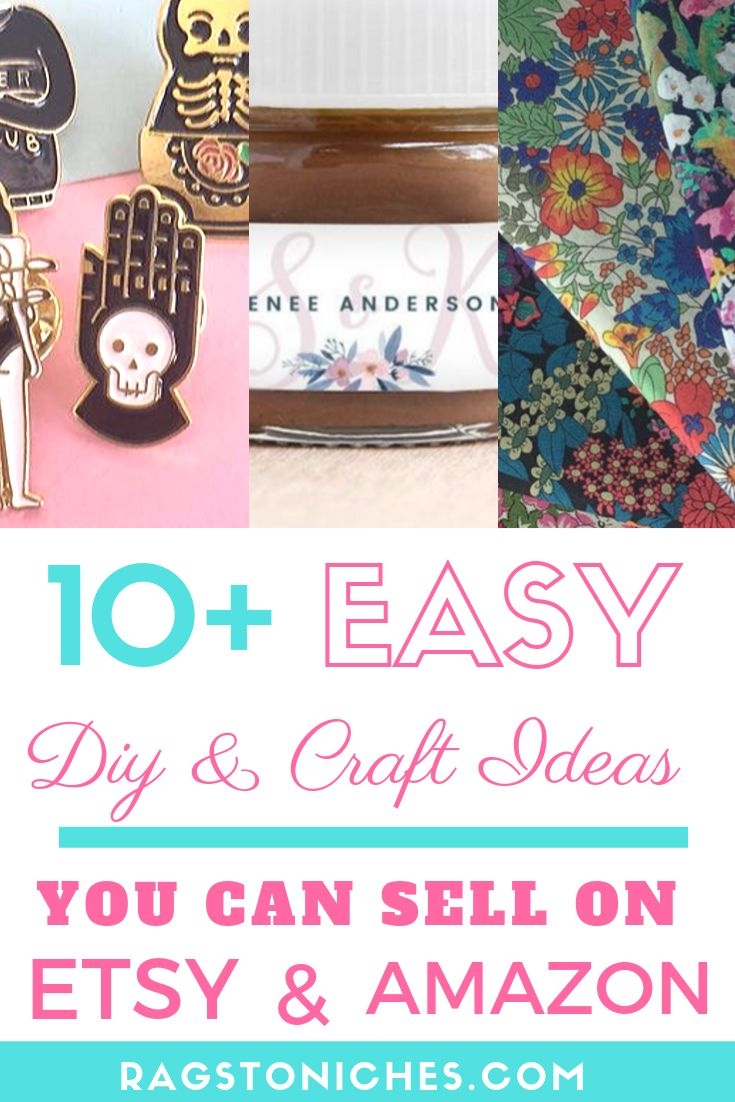 10 Easy DIY And Craft Ideas You Can Sell On ETSY & AMAZON!