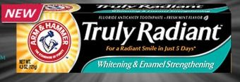 FREE Arm & Hammer Truly Radiant Whitening Toothpaste Sample - Raining Hot Coupons