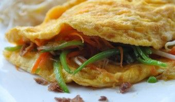 Quick dinners: Asian omelette